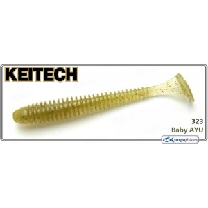 Силиконовая приманка KEITECH Swing IMPACT 3.0 - 323