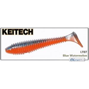 Силиконовая приманка KEITECH Swing IMPACT FAT 3.3 - LT07