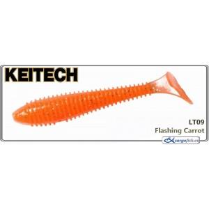 Силиконовая приманка KEITECH Swing IMPACT FAT 3.3 - LT09
