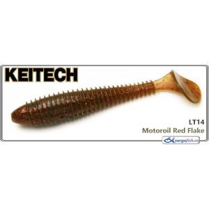 Силиконовая приманка KEITECH Swing IMPACT FAT 3.3 - LT14