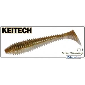 Силиконовая приманка KEITECH Swing IMPACT FAT 3.3 - LT18