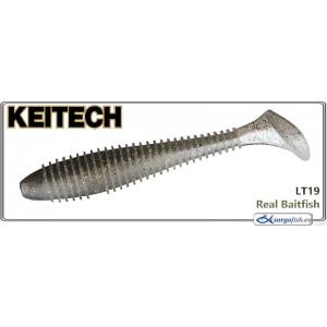 Силиконовая приманка KEITECH Swing IMPACT FAT 3.3 - LT19