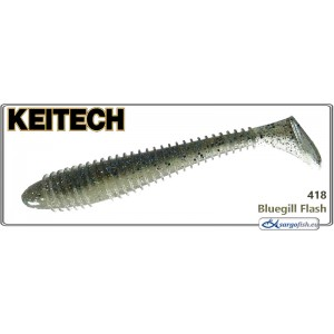 Силиконовая приманка KEITECH Swing IMPACT FAT 3.8 - 418