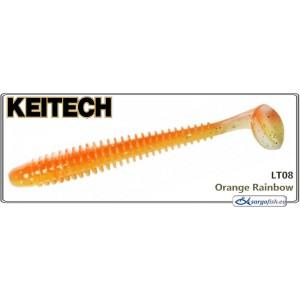 Силиконовая приманка KEITECH Swing IMPACT 4.5 - LT08