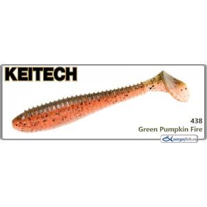 Силиконовая приманка KEITECH Swing IMPACT FAT 4.8 - 438