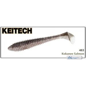 Силиконовая приманка KEITECH Swing IMPACT FAT 7.8 - 483