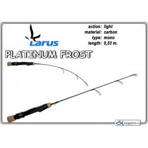 Удочка LARUS Platinum FROST 53 - light