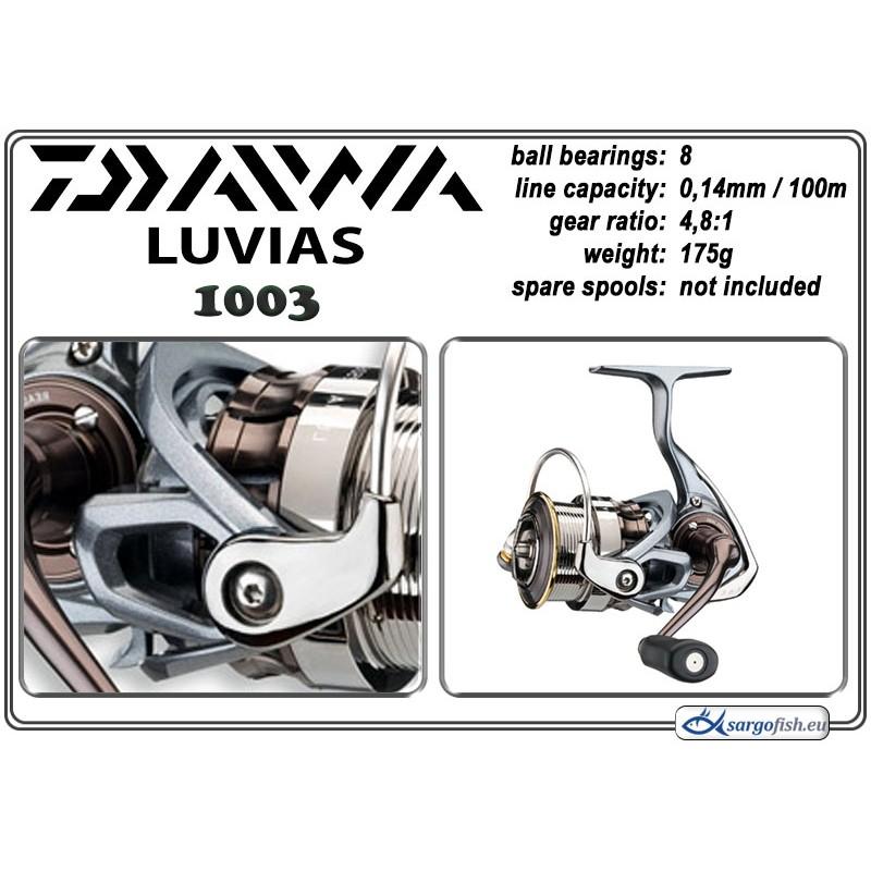 Катушка DAIWA Luvias - 1003