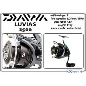 Катушка DAIWA Luvias - 2500