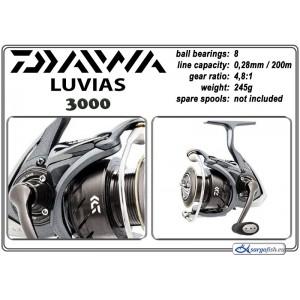 Катушка DAIWA Luvias - 3000