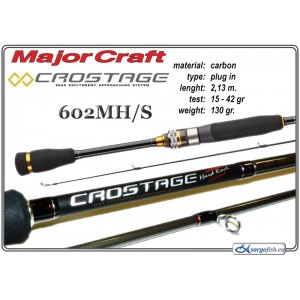 Спиннинг MAJOR CRAFT Crostage 702MH/S - 213, 15-42