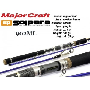 Спиннинг MAJOR CRAFT SP SolPARA 902ML - 274, 10-30