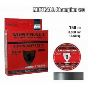 Леска MISTRALL Champion 150 - 0.30