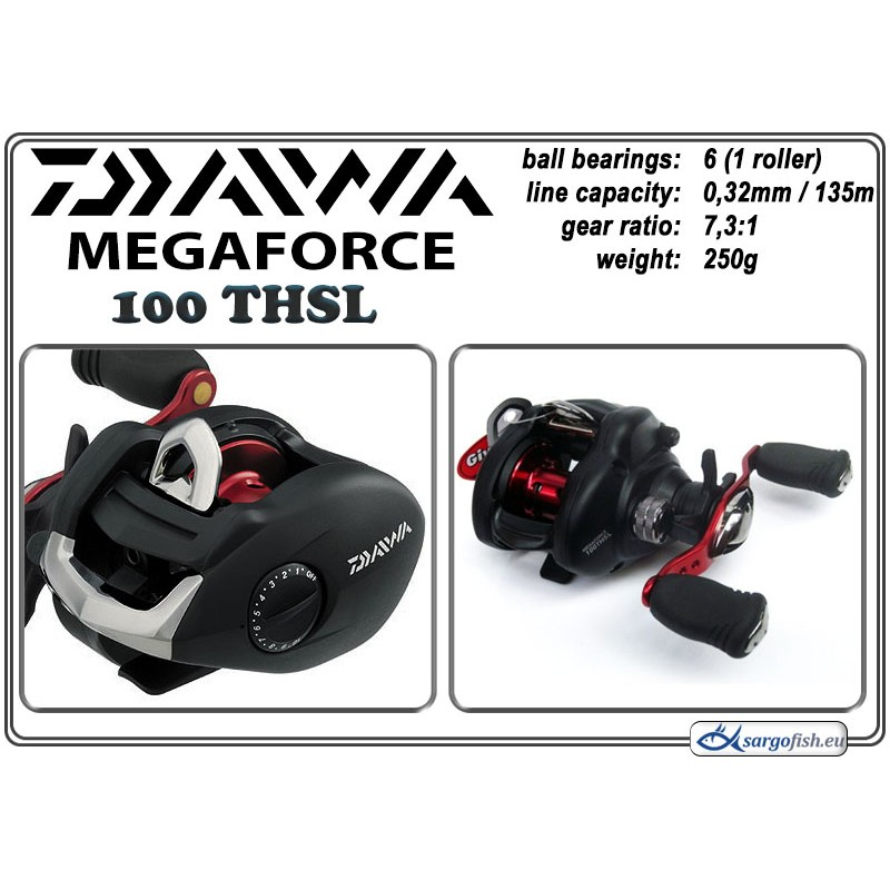 Катушка DAIWA MegaForce - 100THSL