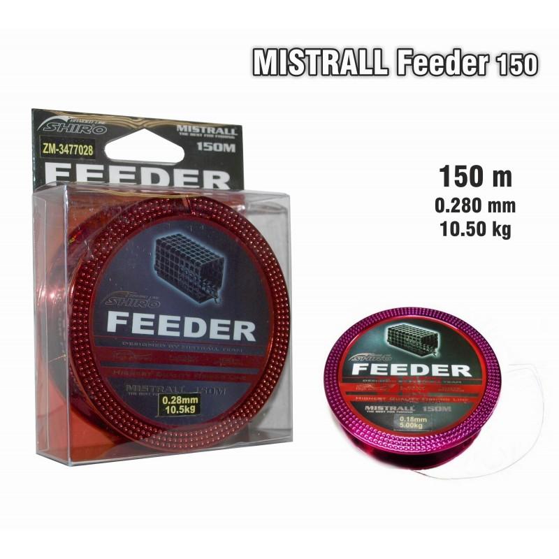 Леска MISTRALL Feeder 150 - 0.28