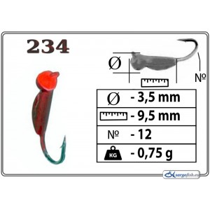 Мормышка ОСА - 234
