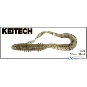 Силиконовая приманка KEITECH Mad WAG Mini 2.5 - 320