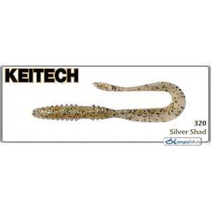 Силиконовая приманка KEITECH Mad WAG Mini 3.5 - 302