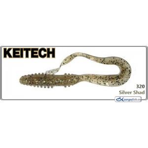 Силиконовая приманка KEITECH Mad WAG Mini 3.5 - 320
