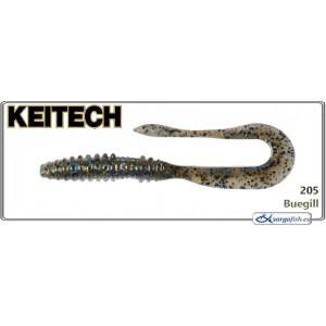 Силиконовая приманка KEITECH Mad WAG Slim 4.5 - 205