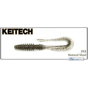 Силиконовая приманка KEITECH Mad WAG Slim 4.5 - 212