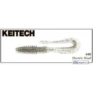 Силиконовая приманка KEITECH Mad WAG Slim 4.5 - 440
