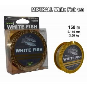 Леска MISTRALL White FISH 150 - 0.14
