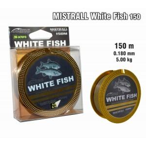 Леска MISTRALL White FISH 150 - 0.18