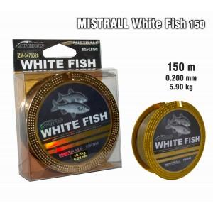 Леска MISTRALL White FISH 150 - 0.20