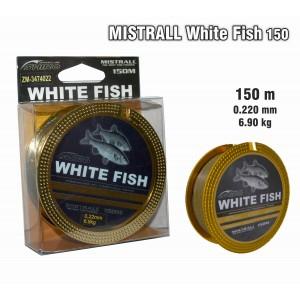 Леска MISTRALL White FISH 150 - 0.22