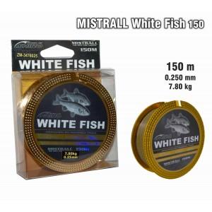 Леска MISTRALL White FISH 150 - 0.25