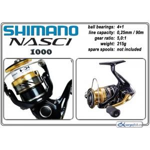 Катушка SHIMANO Nasci - 1000