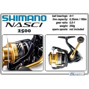 Катушка SHIMANO Nasci - 2500