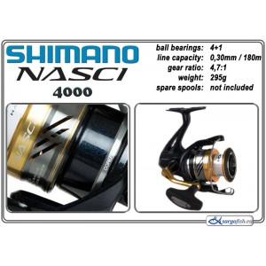 Катушка SHIMANO Nasci - 4000