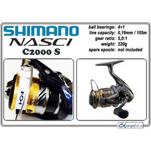 Катушка SHIMANO Nasci - C2000 S