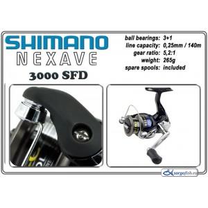 Катушка SHIMANO Nexave - 3000 SFD