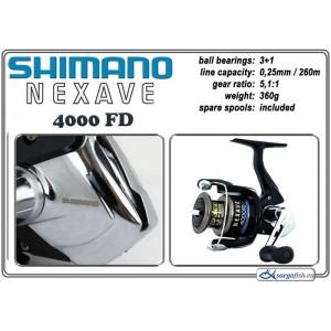 Катушка SHIMANO Nexave - 4000 FD