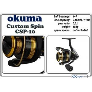 Катушка OKUMA Custom SPIN CSP - 10
