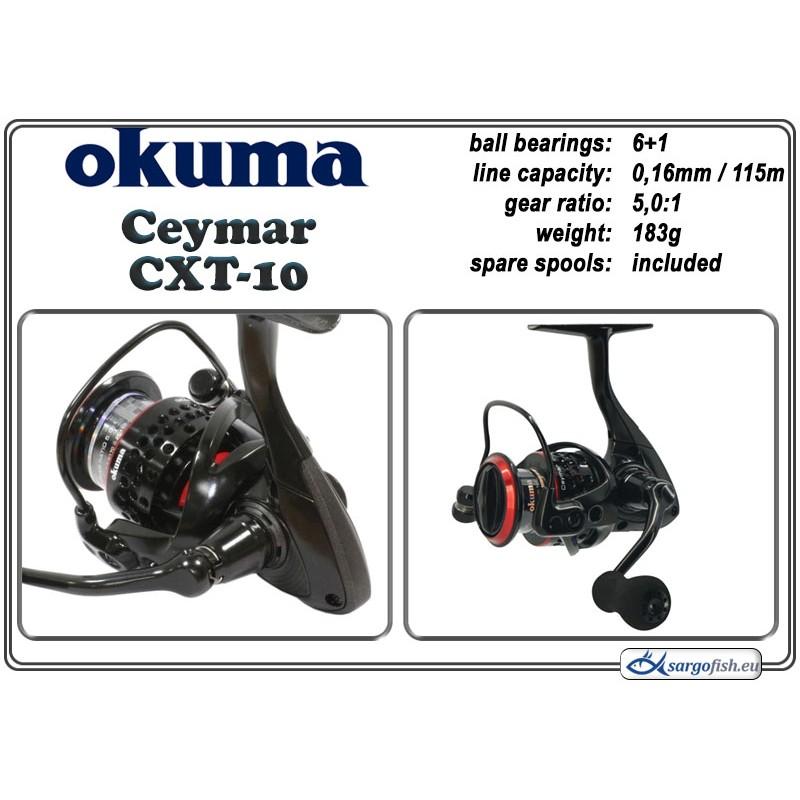 Катушка OKUMA Ceymar CXT - 10