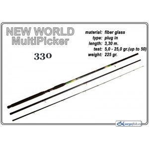 Фидер NEW WORLD MultiPicker - 330 5-25(50)