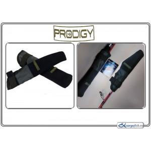 Аксессуар Prodigy GREY,S TIP / BUTT protectors - black