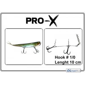 Крючки PRO-X 10 BN - 1/0