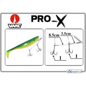 Крючки PRO-X VMC-X 3.5(1) - 8.5(1)