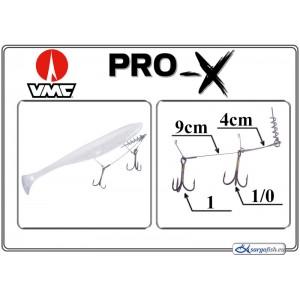 Крючки PRO-X VMC-X 4(1/0) - 9(1)