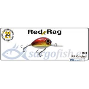 Воблер PONTOON 21 Red RAG MDR 36F - 001