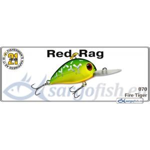 Воблер PONTOON 21 Red RAG MDR 36F - 070