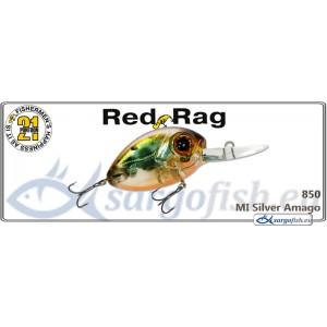 Воблер PONTOON 21 Red RAG MDR 36F - 850