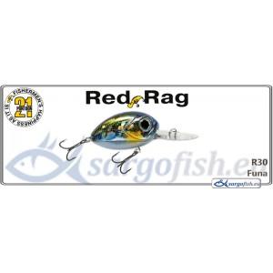 Воблер PONTOON 21 Red RAG MDR 36F - R30