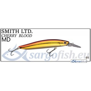 Воблер SMITH Cherry BLOOD MD 82S - 01