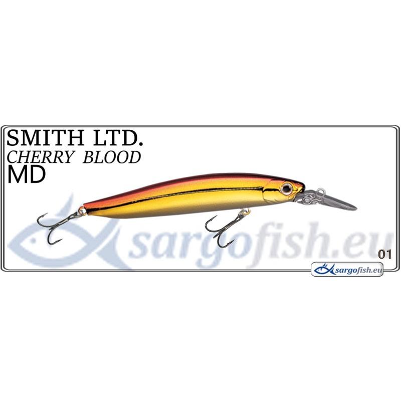 Воблер SMITH Cherry BLOOD MD 82S - 01